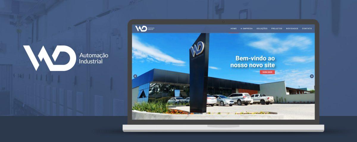WD Automação lança seu novo website